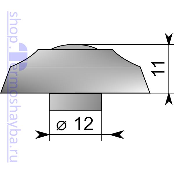 Размер термошайбы Стандарт