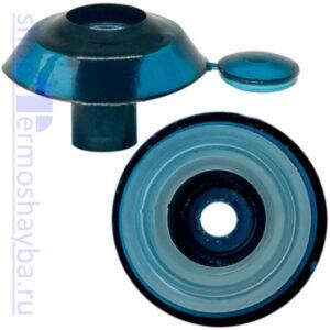 Усиленная термошайба Профи бирюза с резиновым уплотнителем