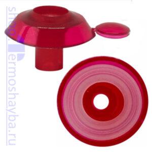 Усиленная термошайба Профи гранат с резиновым уплотнителем