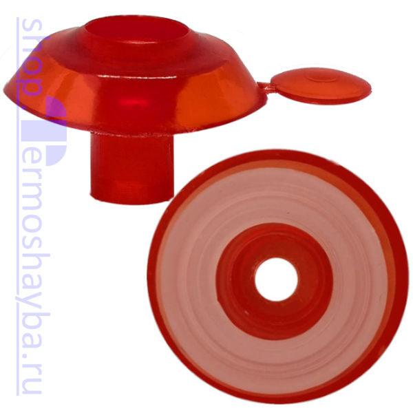 Усиленная термошайба Профи красная с резиновым уплотнителем