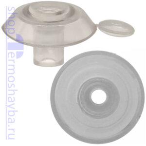 Усиленная термошайба Профи прозрачная с резиновым уплотнителем