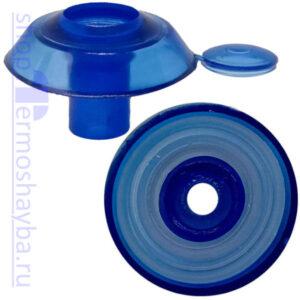 Усиленная термошайба Профи синяя с резиновым уплотнителем