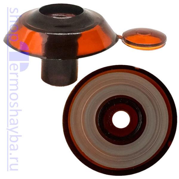 Усиленная термошайба Профи терракот с резиновым уплотнителем